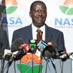 Odinga parallel presidential 'inauguration' postponed