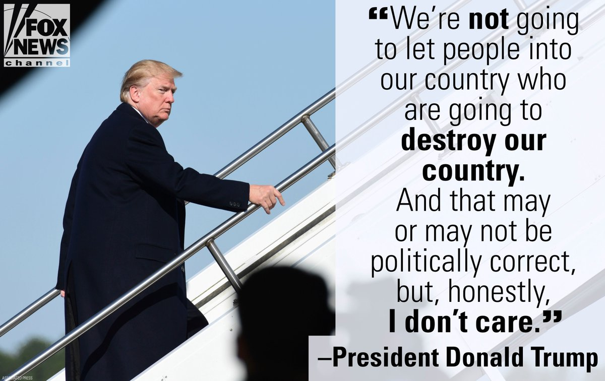 At his rally Friday in Florida, @POTUS reiterated his hard-line stance on immigration.
