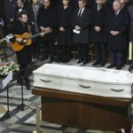 Hallyday to be buried on Caribbean island