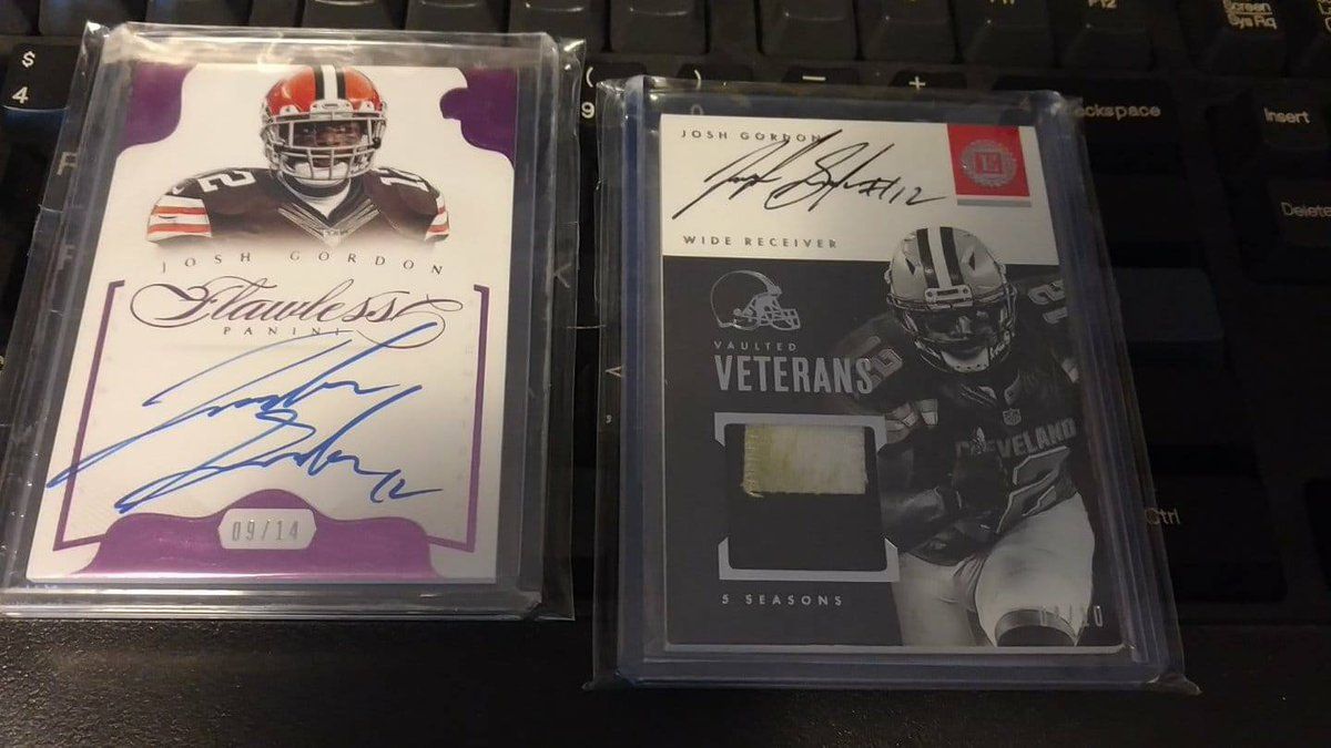 New to the PC! 09/14 flawless on card & 04/10 super dirty encased! @BuckCityBreaks https://t.co/OWdRr8q7fh