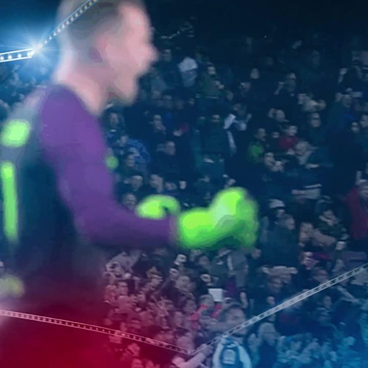 Minut 15: Gran parada de @mterstegen1 a rematada de Roberto Soriano! Som-hi Barça! (0-0)�� #VillarrealBarça https://t.co/hbg6LqwG70