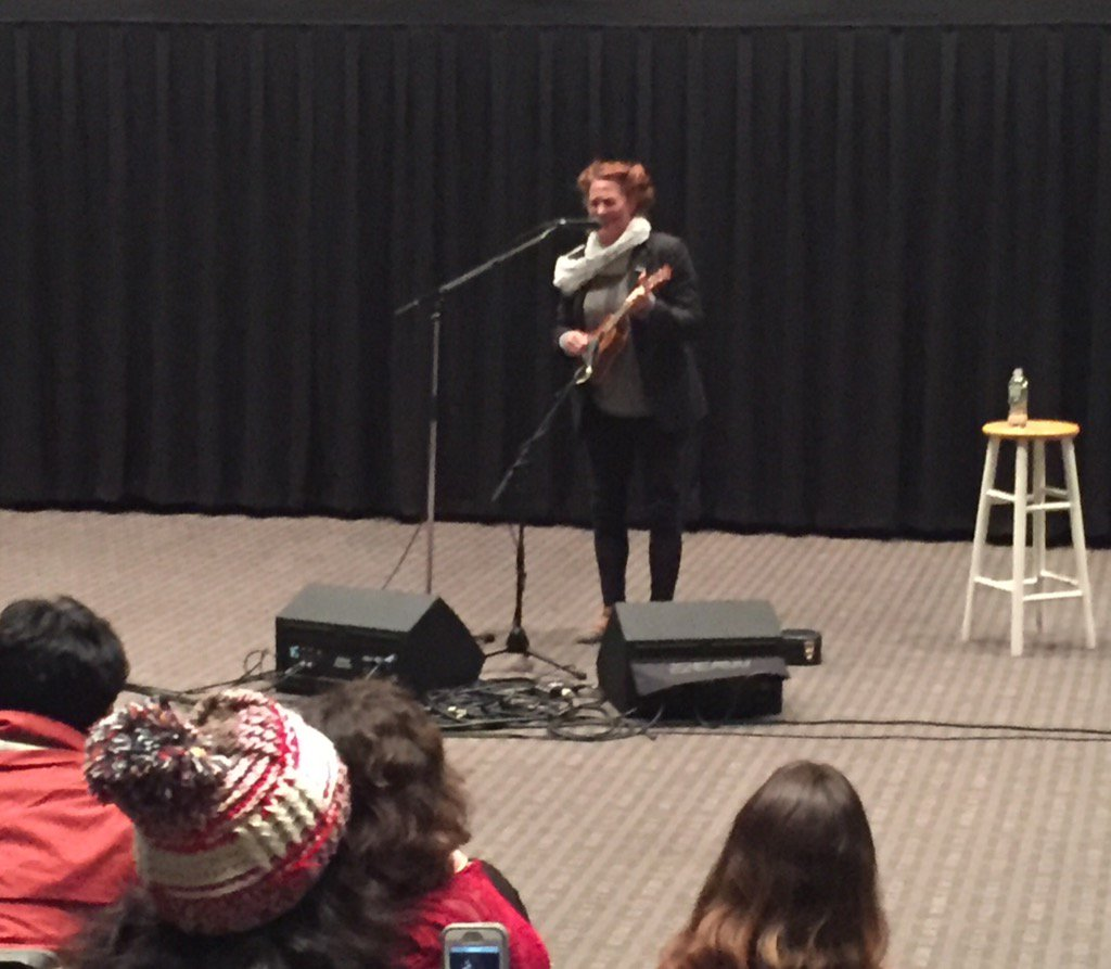 "test Twitter Media - As finals approach, listen to @amandapalmer ""Ukulele Anthem,"" which she sang Sat @wesleyan_u #WesCreative https://t.co/aY3g3jl7rQ"