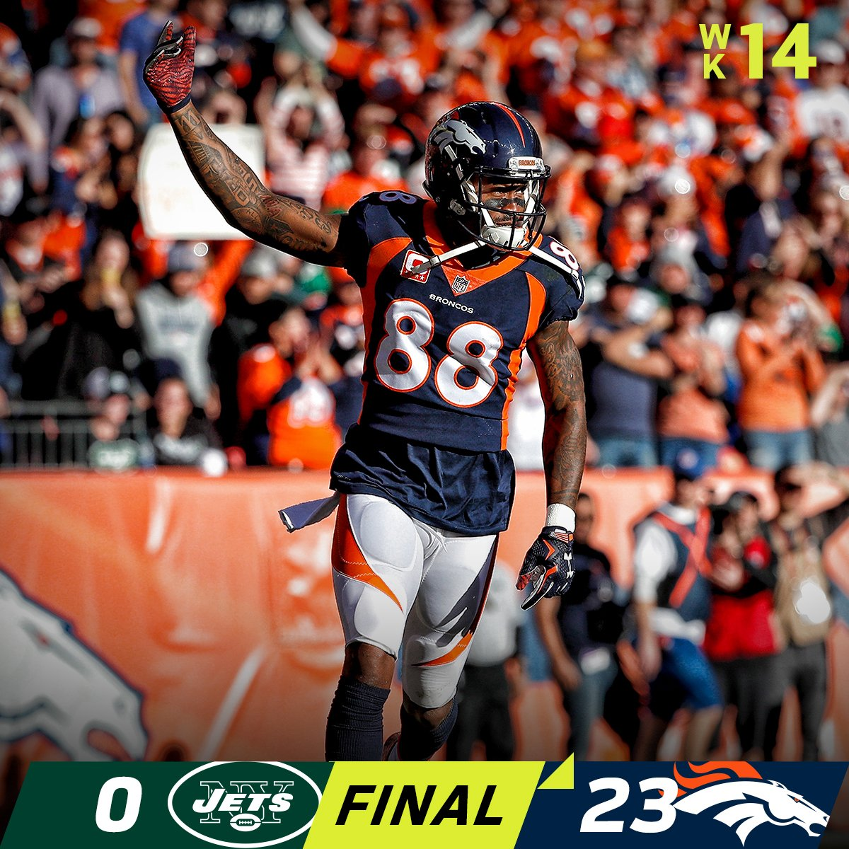 FINAL: The @Broncos get the shutout! #NYJvsDEN  #BroncosCountry https://t.co/SkHTMRnDlj