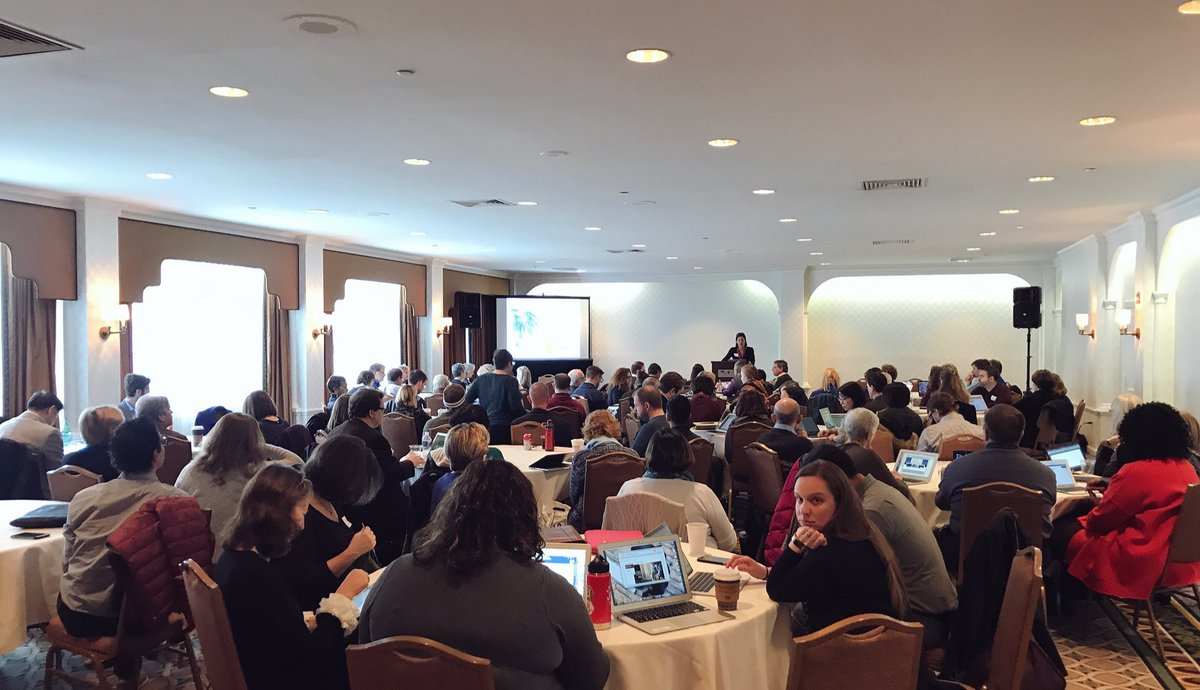 test Twitter Media - Looking kinda small at the podium in comparison to the mass of @SPARC_NA members in the room for today's conversation!!! https://t.co/afDIs6sp9U