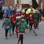 Shuffling with Santa in Cedar Falls