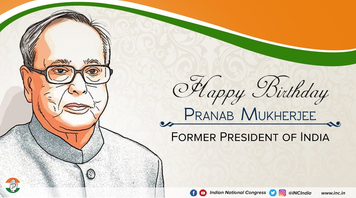 Warmest birthday greetings to our former president of india a warmest birthday greetings to our former president of india citiznmukherjee a visionary leader throughout kristyandbryce Choice Image