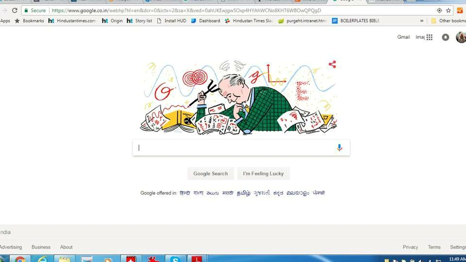 Google Doodle honours German physicist Max Born on 135th anniversary