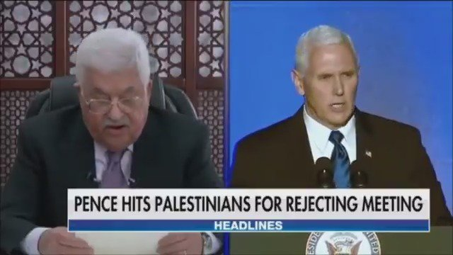 White House hits Palestinian leaders for rejecting meeting with VP Pence https://t.co/4mtQMTVeK5