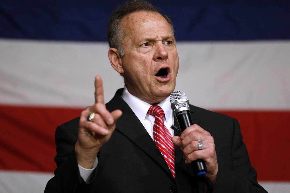 A pro-Trump group sent a 12-year-old girl to interview Roy Moore