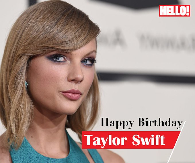 HELLO! wishes Taylor Swift a very Happy Birthday