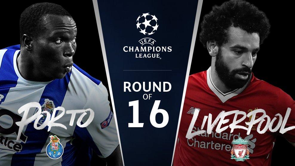 Porto v Liverpool   #UCLdraw https://t.co/nV91ciu6kq