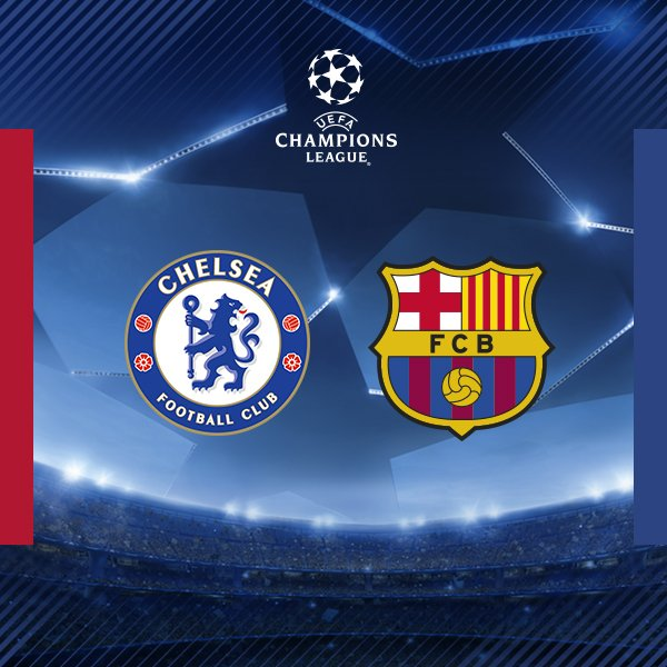And we're going to face @ChelseaFC  in the @ChampionsLeague  Round of 16! #UCLDraw #ForçaBarça ������ https://t.co/SxHsf8aLMy