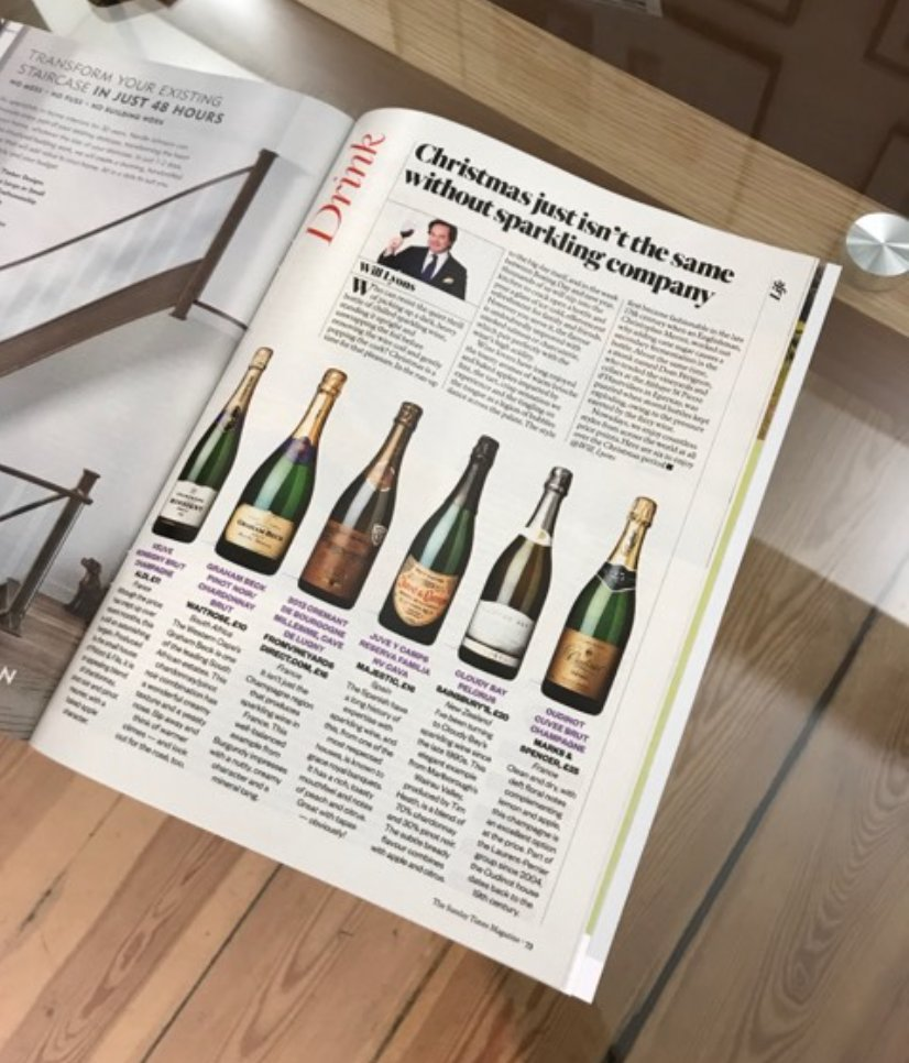 test Twitter Media - Great to see @Will_Lyons has recommended @CloudyBay Pelorus as a bottle to try over the Christmas Period. https://t.co/iNvR6PB1kQ