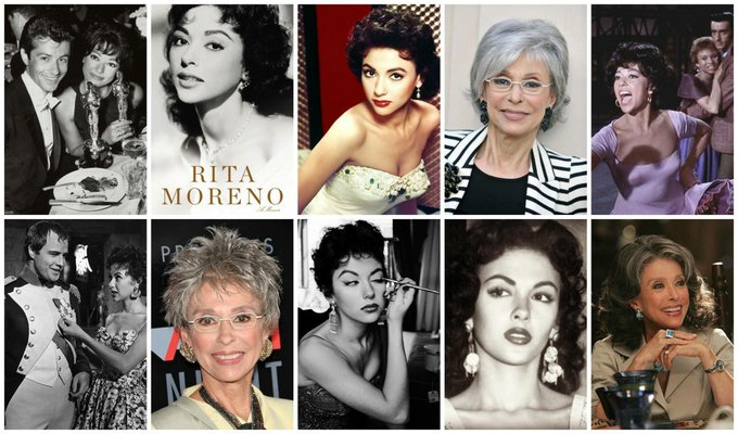 Today in History  December 11th Happy 86th Birthday  1931 - Rita Moreno