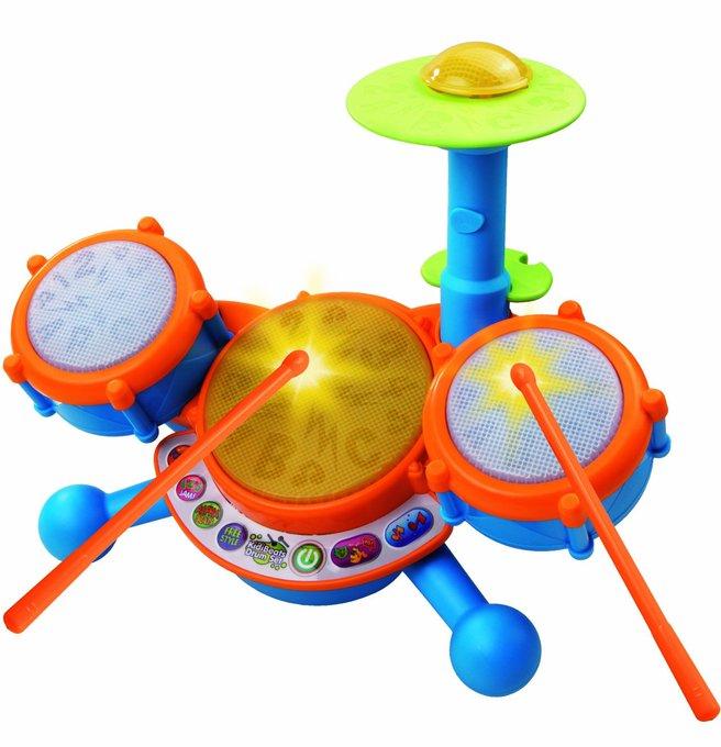 VTech KidiBeats Drum Set Only $17.89! Best Price! https://t.co/HfkHM2bRpD https://t.co/H2K7CXL0SD