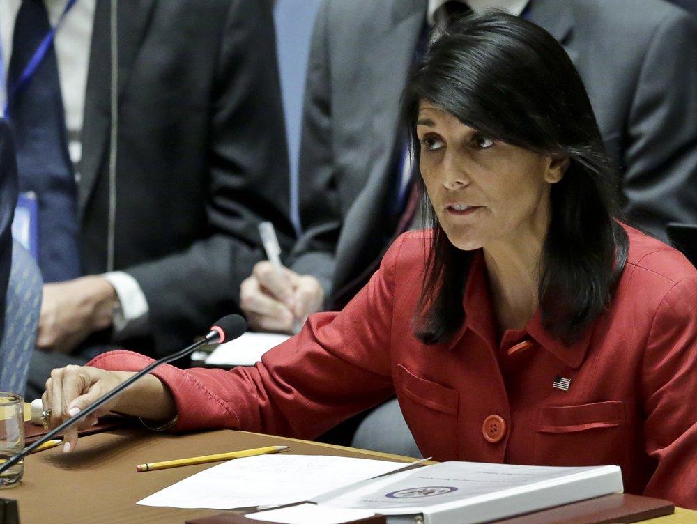 Nikki Haley, Trump's own ambassador to UN, says Trump's accusers 'should be heard'