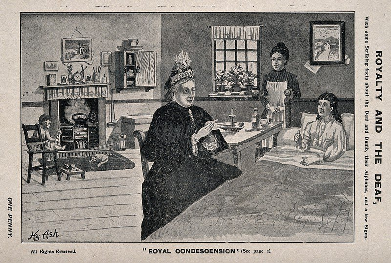 test Twitter Media - We've also added a bit more to our St Saviour's timeline: interesting that it was championing BSL throughout a period when lip reading was supposed to be 'better'. https://t.co/XFBaBYQWn0 (Here's Queen Victoria signing, courtesy of @ExploreWellcome ) https://t.co/no5AM0xYhK