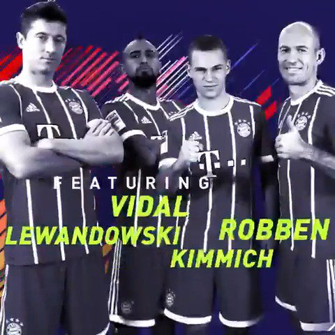 The @FCBayern lads pick their Ultimate Team  Featured Squad Battle live now in FUT! #FIFA18 https://t.co/LUeMy5u33a