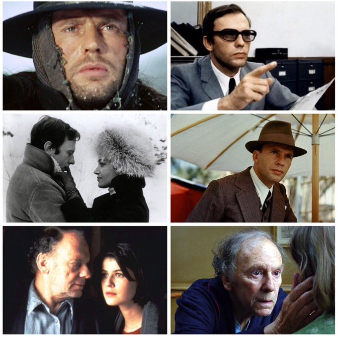 Happy 87th birthday to actor/writer/director, Jean-Louis Trintignant.