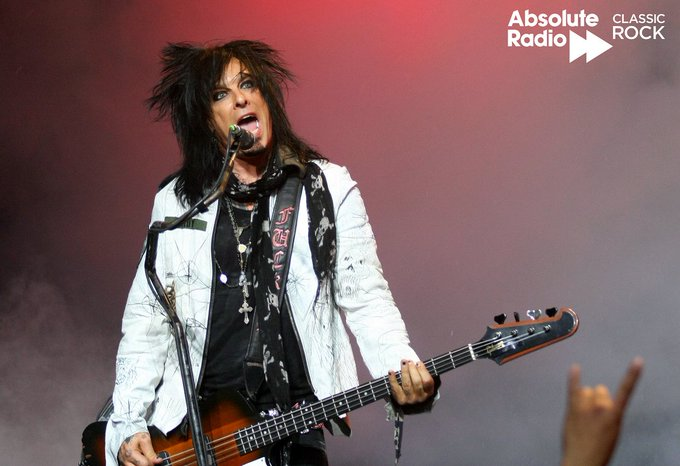 Oh look, Nikki Sixx has only gone and done a birthday.  Happy Birthday to you.