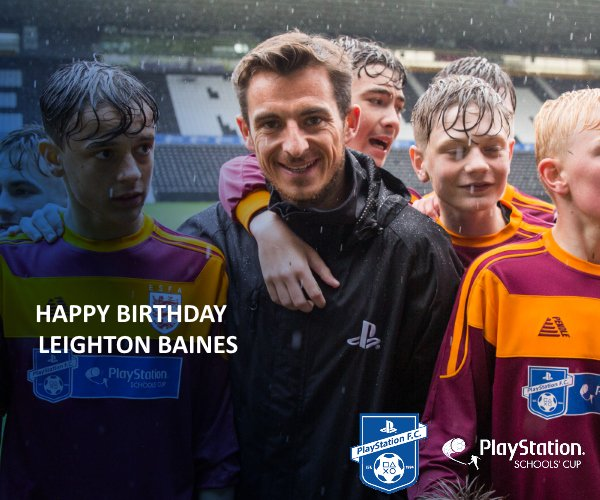 Happy Birthday to star and ambassador, Leighton Baines