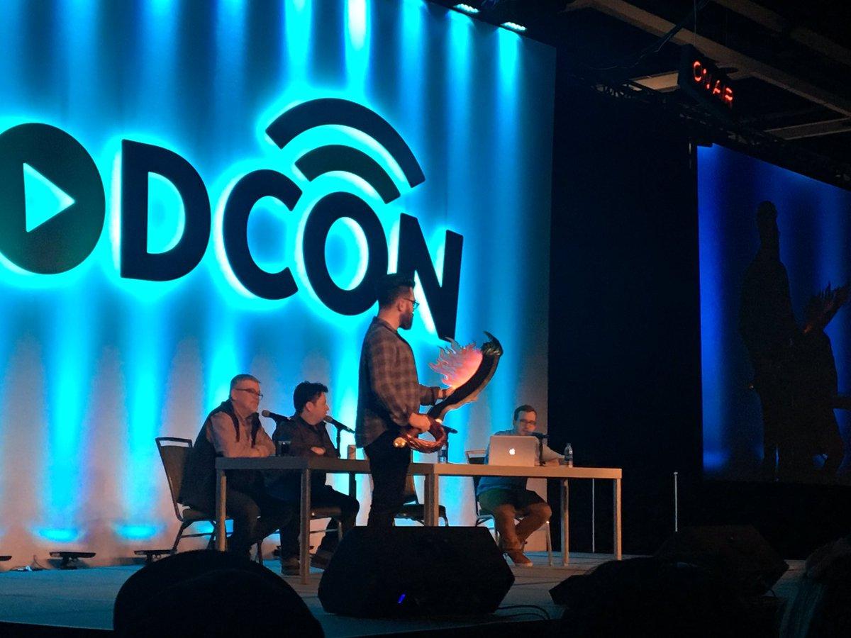 #podcon