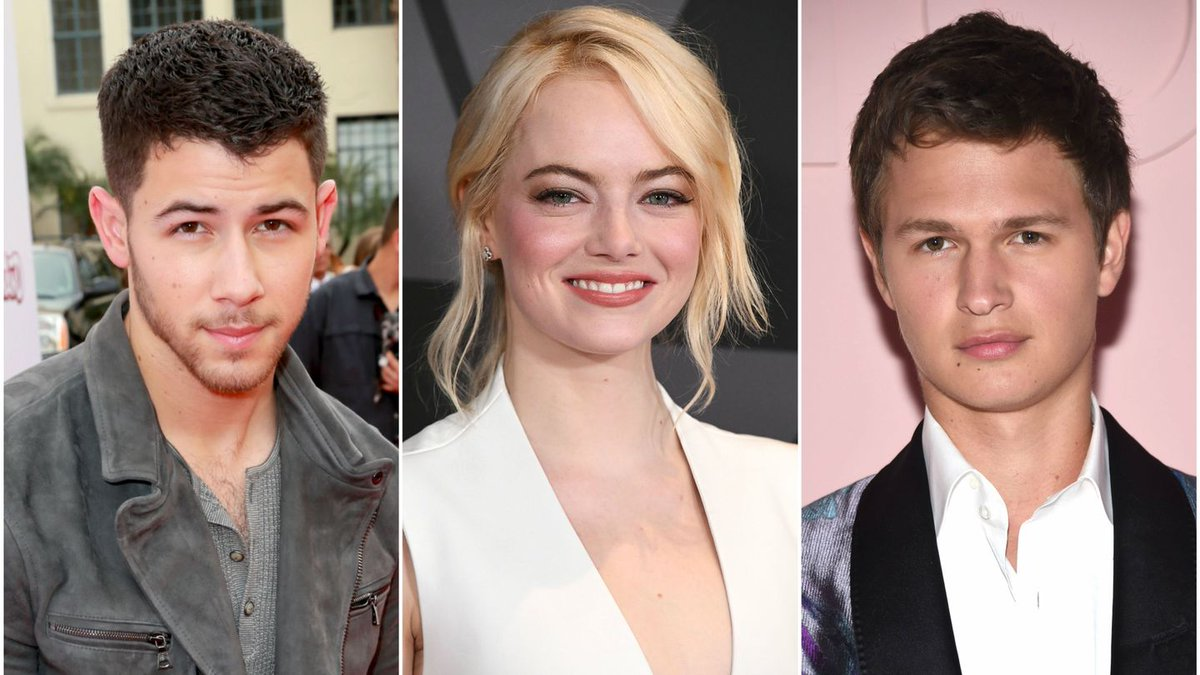 Nick Jonas Is Giddy And Ansel Elgort Is Crying In Reaction To Their Golden Globe Noms