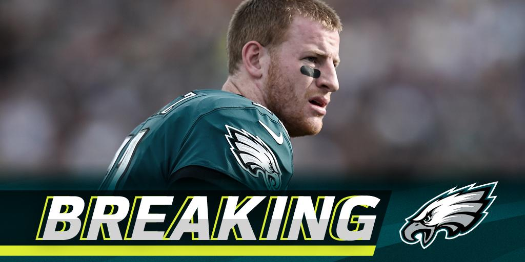 Carson Wentz suffered torn ACL, will miss remainder of 2017 season: https://t.co/03e26XSzEb https://t.co/Gs6n8lgtAc