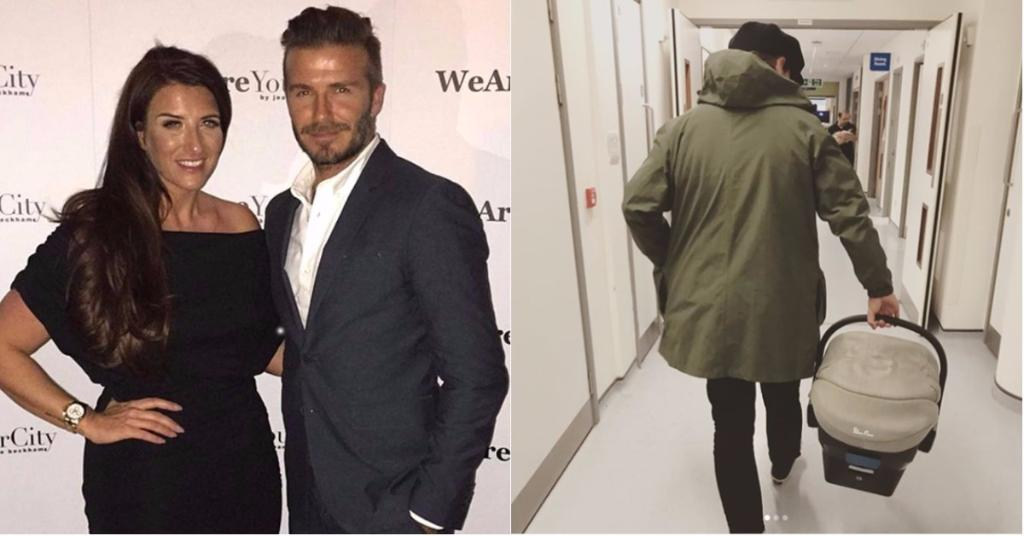 David Beckham's sister Joanne gives birth to little girl Peggy as dad Kris posts first look at newborn on Instagram