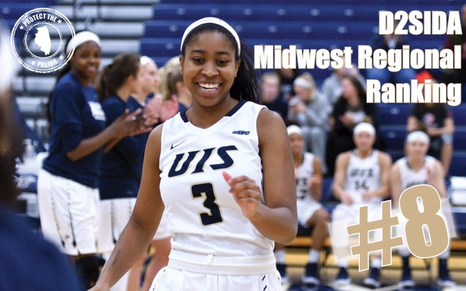 RT @UISAthletics: This just in: @UISWBB up one spot in the latest D2SIDA Midwest Regional Ranking! After a 68-63 win over Rockhurst, UIS no…