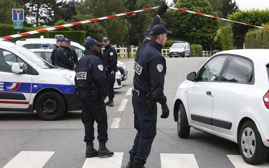 Suspect arrested over jihadist murders of French police couple