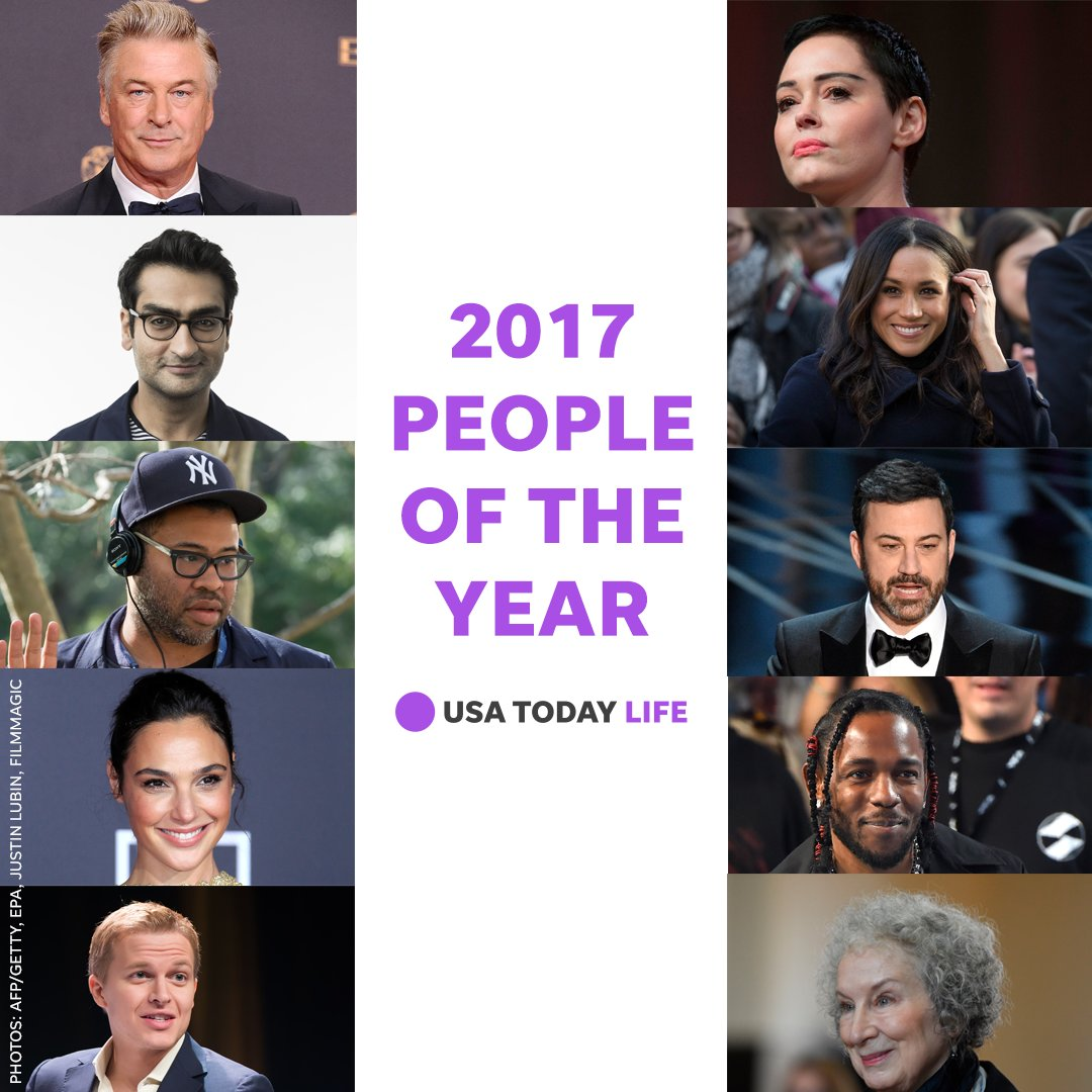 These 10 people made the biggest impact in entertainment this year.