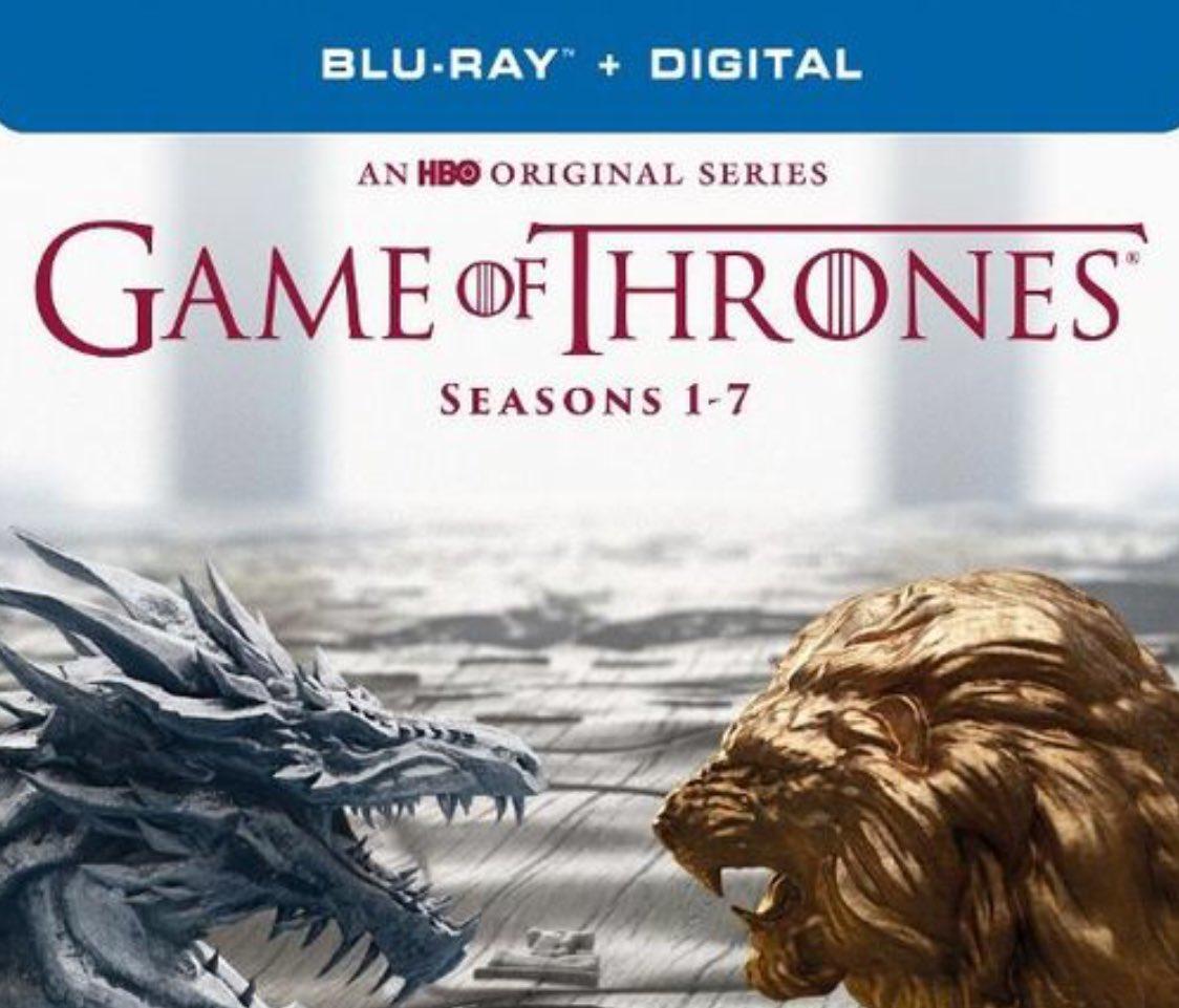 Win it: #GameOfThrones Seasons 1-7 on Blu-ray! Enter here: https://t.co/ce570uiAzV #giveaway https://t.co/zo4BVGgcVr