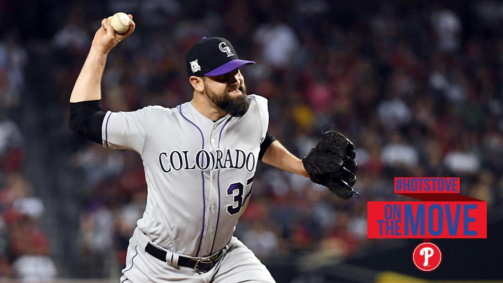 Phillies closing in on signing RHP Pat Neshek, @ToddZolecki reports. Club hasn't confirmed. https://t.co/dCKYWEHJT8 https://t.co/a1kFXv5qfR