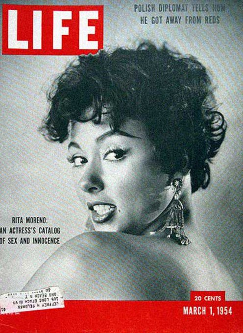 Happy Birthday to this Beautiful lady, Rita Moreno, still amazing