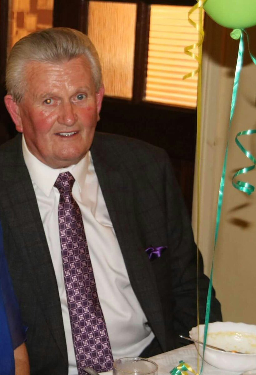 test Twitter Media - Tonight the Legendary Iron Man Paddy McCormack was elected Club President at the 129th Rhode GAA  Club AGM The position came open following the death of Christy Darby who passed away earlier this year after serving 35 years.  💚💛 https://t.co/0KWYt85lNq