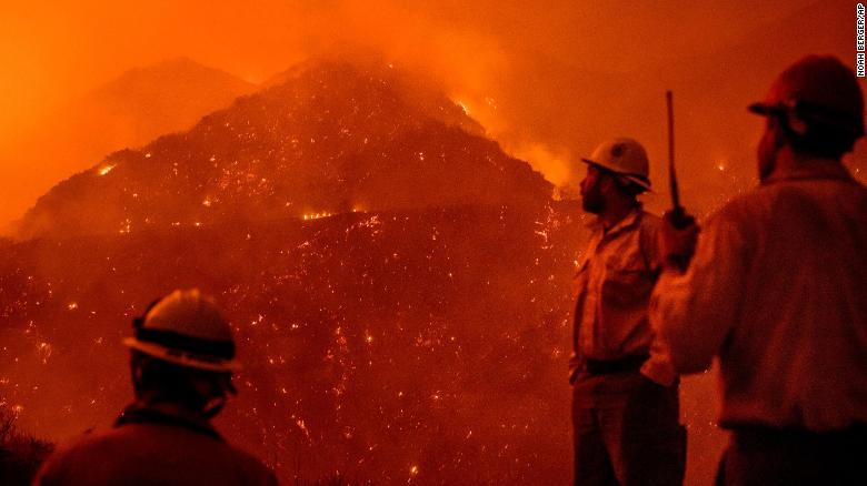 The California wildfires are now larger than New York City and Boston combined