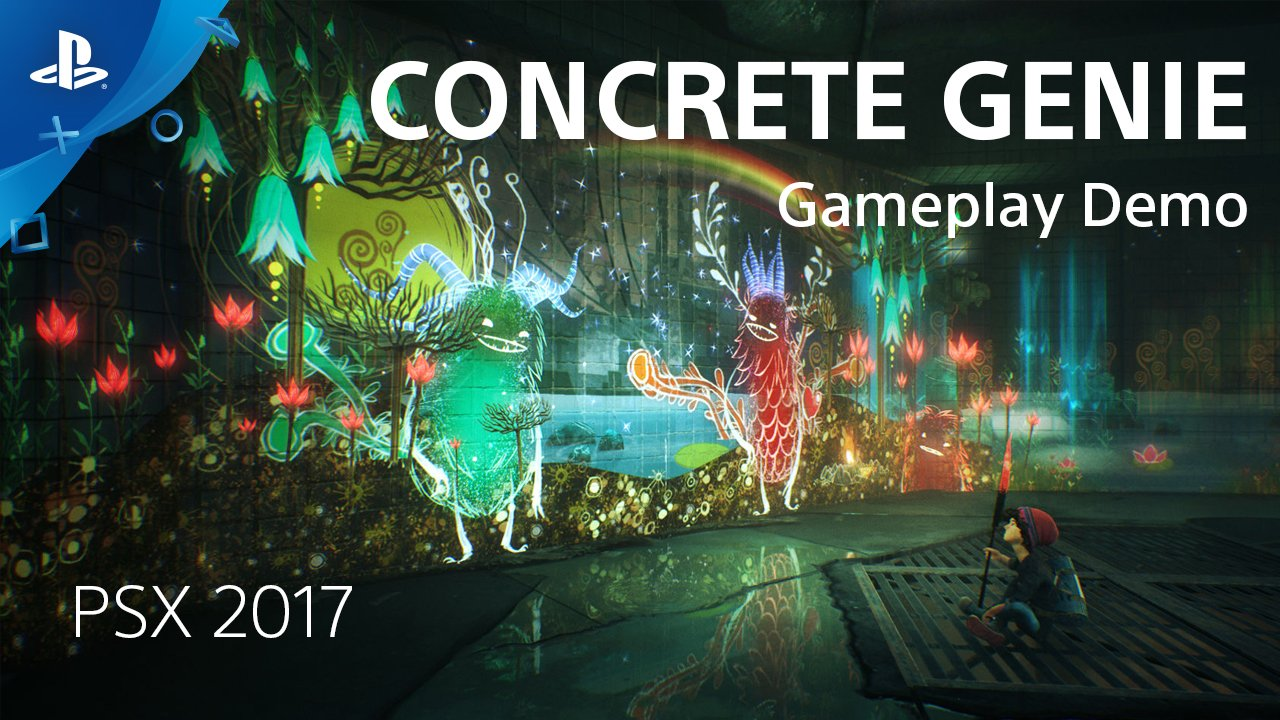 See new gameplay from Concrete Genie hosted by @Pixelopus, recorded live at PSX 2017. https://t.co/CeubuAXh3t https://t.co/6BCQh3JcaX