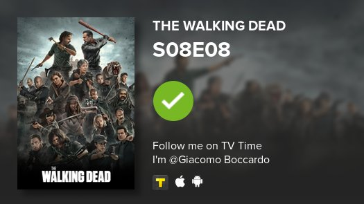 test Twitter Media - I've just watched episode S08E08 of The Walking Dead! #TWD  #tvtime https://t.co/ZswBWNtmq2 https://t.co/RoB86snvKk