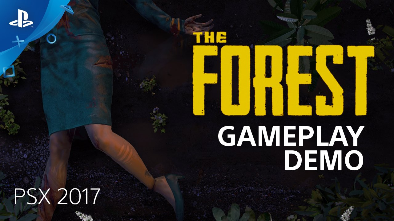 Watch a new #PSX demo of The Forest, a brutal survival game coming to PS4 in spring 2018. https://t.co/ULkbXAU1tv https://t.co/mCoMeoG7Ht