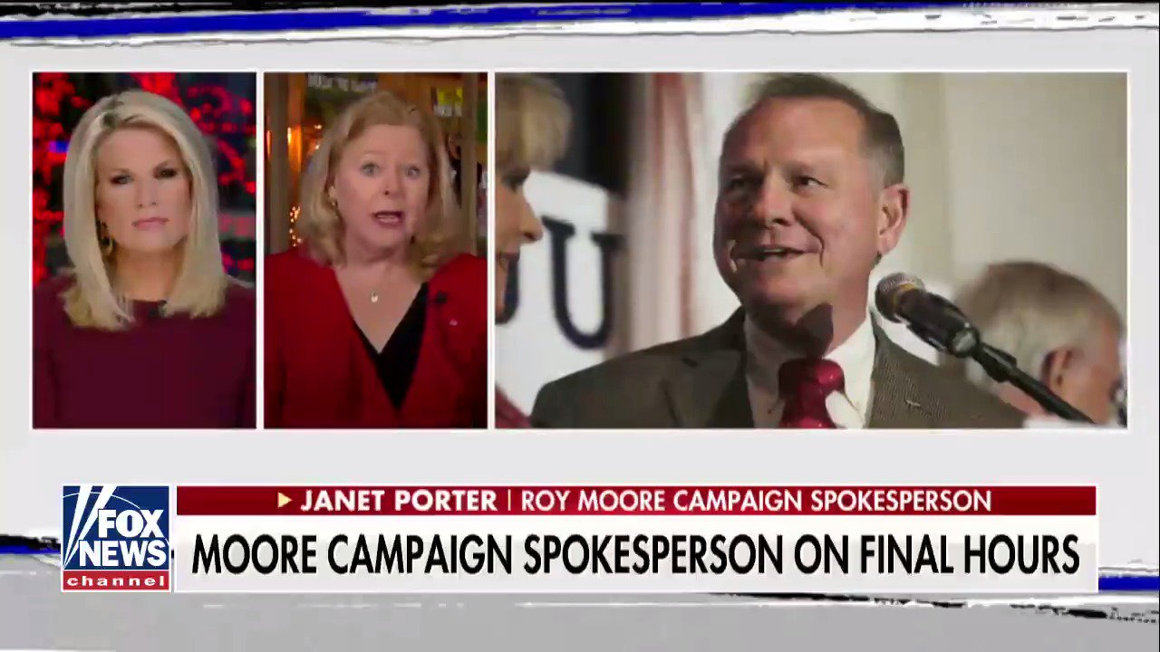 """Roy Moore campaign spokesperson: """"This whole race is about the United States Supreme Court."""" #TheStory https://t.co/rkJx4SWQG7"""