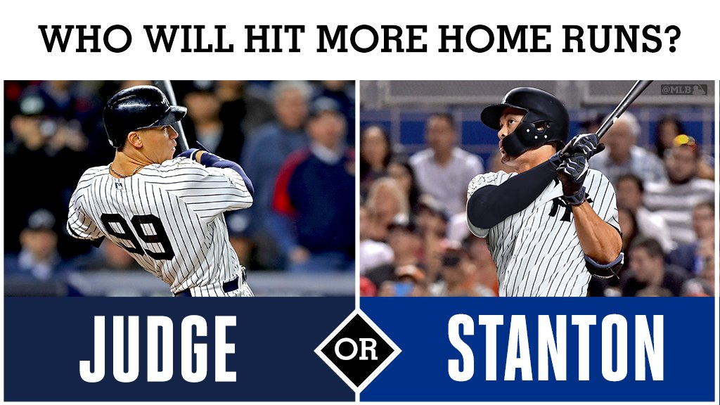 Judge. Stanton.  Who ya got? https://t.co/MOSV0aNxmw