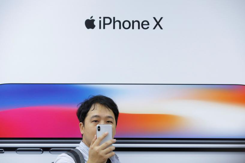 Apple suppliers drop on report of weak iPhone X demand; analysts' views mixed