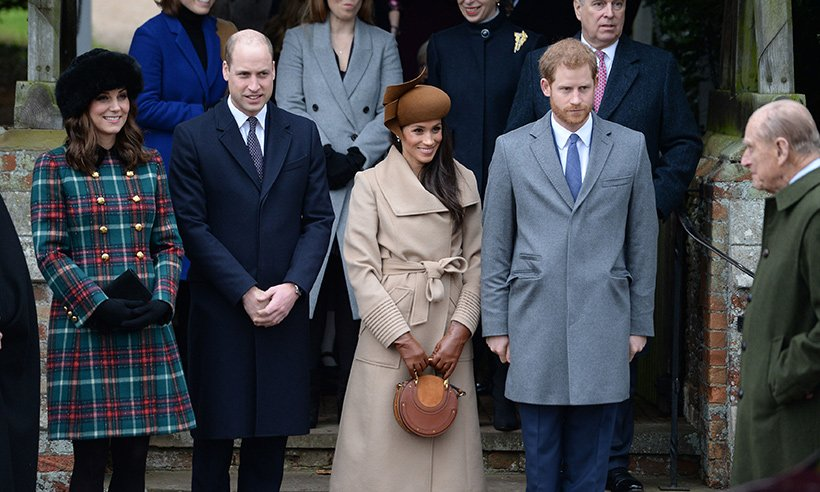 Meghan Markle's first Christmas with the royals- see all the pics