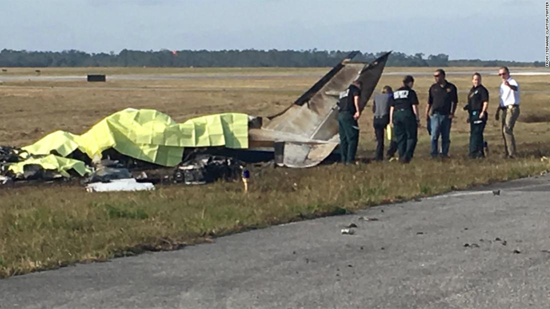 Several people have been killed in a Christmas Eve plane crash in Florida