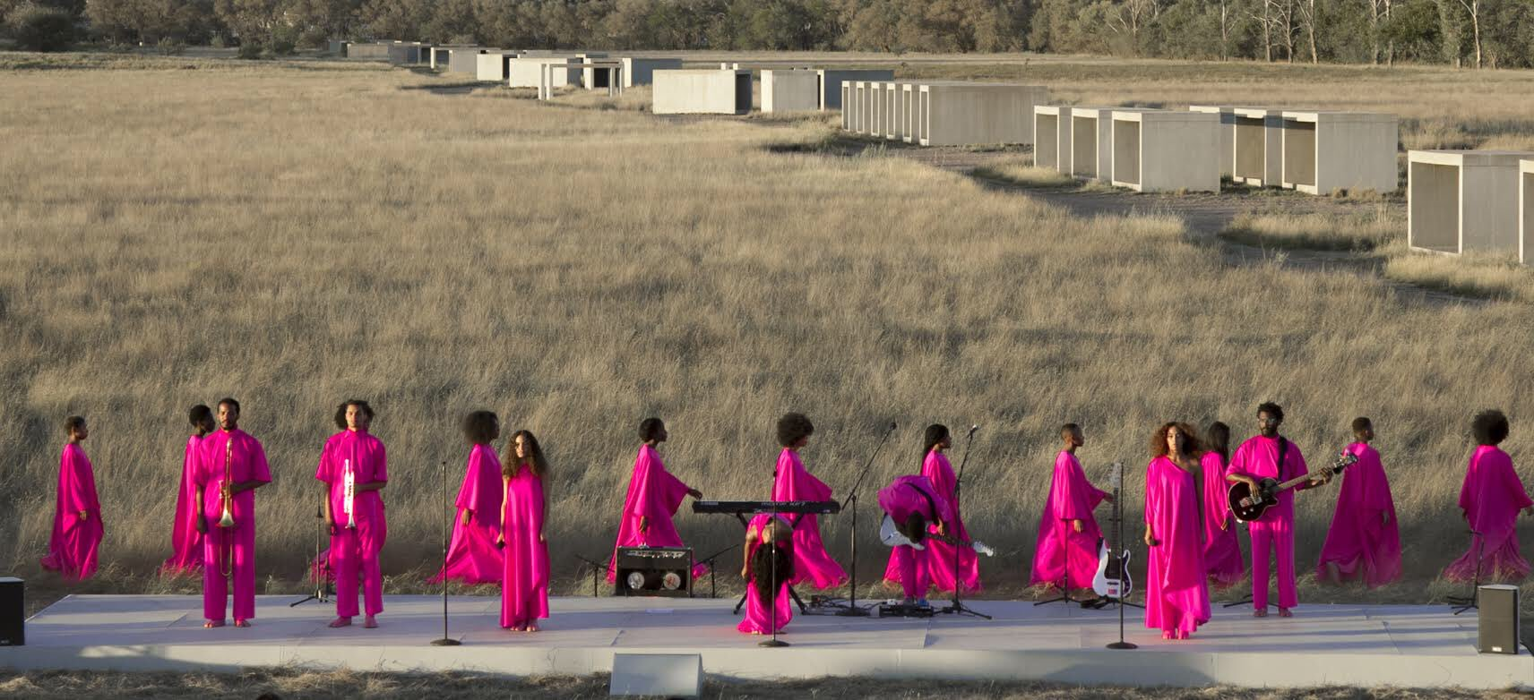Scales (2017) performance piece at @ChinatiFndn @juddfoundation  Marfa, Texas https://t.co/kJpZcH5tq6
