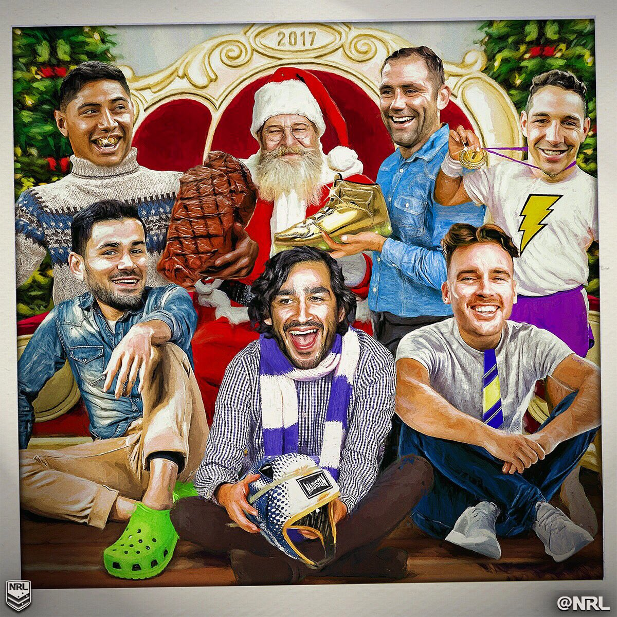 Merry Christmas! 🎅🏼🎄🎁   #NRL https://t.co/Z7sztTvf1g