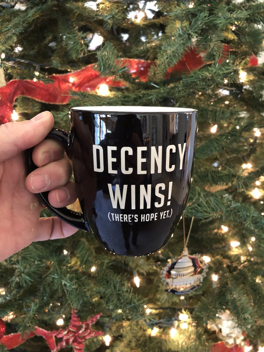 This mug was left at my door today. thank you. what a thoughtful ...