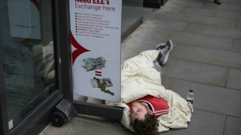 Christmas help as UK homelessness becomes 'national crisis'