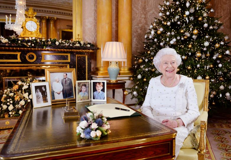 Queen Elizabeth praises husband's humor in Christmas message